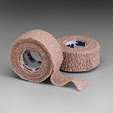 """3M Coban Self-Adherent Wrap 1581 Nexcare 1"""" x 5yds Tan Bandage Gauze Wound"""