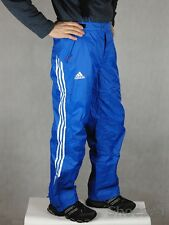 adidas Performance Climaproof Shiny Nylon Waterproof Breathable Rain Pants Large