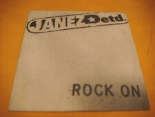 Cardsleeve Single CD JANEZ DETD Rock on 2TR 1999 punk