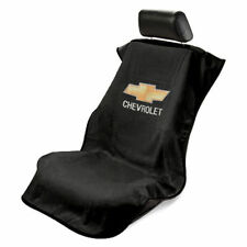 BRAND NEW Universal Black Seat Towel Seat Armour Cover With Chevrolet Logo