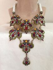 Heidi Daus Pearl BEGUILING BAROQUE Necklace - RETIRED COLOR!!