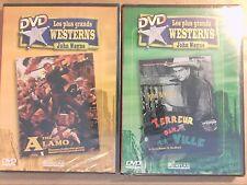 LOT 2 DVD WESTERN JOHN WAYNE / TERREUR DANS LA VILLE + ALAMO / NEUF SOUS CELLO