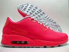 NIKE AIR MAX 90 HYPERFUSE PREMIUM ID SOLAR RED-WHITE SIZE MEN'S 13 [822560-997]