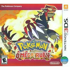 3DS Games Pokemon Omega Ruby Brand New & Sealed