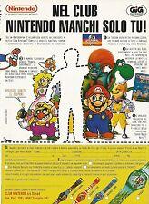 X4212 Nel club Nintendo manchi solo tu - GIG electronics - Pubblicità 1994
