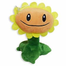Plants vs Zombies Sunflower Plush Toy - New - Free Shipping