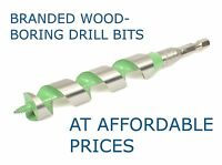 Irwin Record Marples Auger Drill Bits Multispeed Wood Boring | Carbon Steel Hex