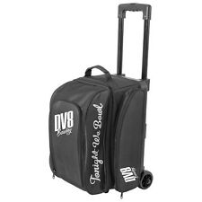 DV8 Freestyle Double Roller 2 Ball Bowling Bag Black
