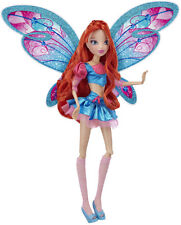 "Winx Club 11.5"" BLOOM Deluxe Fashion Doll Believix Collection Fairy Nickelodeon"