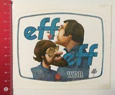 Aufkleber/Sticker: Eff Eff - WDR (10031638)