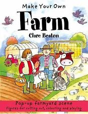 Make Your Own: Make your own Farm by Clare Beaton (2014, Paperback)