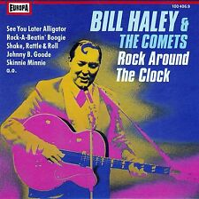 BILL HALEY & THE COMETS : ROCK AROUND THE CLOCK / CD (EUROPA 100 406.9)