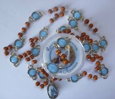 LOURDES Celebration Apparition Rosary Beads MARKING all the Apparition DATES