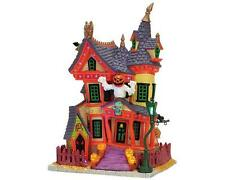 Lemax Spooky Town Halloween NIGHTMARE ON OAK ST - Exterior Lighted House NEW