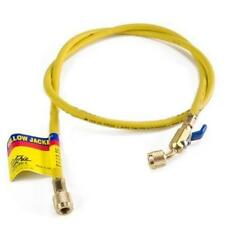 "Yellow Jacket 29036 36"", Yellow, Compact Ball Valve, Plus II 1/4"" Hose"