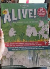 Home schooling science It's Alive 10 wall sized coloring posters ages 9-13