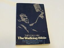 They Call Him the Walking Bible Dr. Jack Van Impe book Story Roger F. Campbell