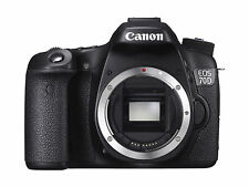 Canon EOS 70D 20.2MP Digital SLR Camera - Black (Body Only) WI-FI