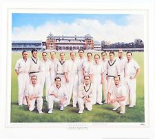 "1948 AUSTRALIAN CRICKET TEAM ~ BRADMAN'S ""INVINCIBLES"" by Dave Thomas"