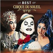 LE BEST OF CIRQUE DU SOLEIL 20TH ANNIVERSARY EDITION CD!NEAR MINT+