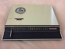 Vtg Futura Telephone Index New Jersey State Bowling 1974 Brass Black NIB NOS