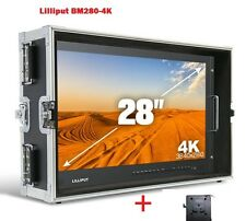 LILLIPUT BM280-4K Broadcast Ultra-HD Monitor w/SDI ,HDMI ,DVI,VGA,TALLY+ V Mount