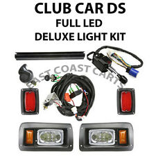 Club Car DS Golf Cart Street Legal FULL LED DELUXE Light Kit (Free Shipping)