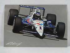 Al Unser Jr. 1990 Cart PPG Indy Car Champion Postcard Valvoline Indianapolis 500