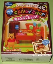 Re-ment Miniature Disney Winnie the Pooh Candy Shop Playset MISB Retired 2010