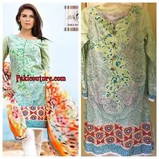 Authentic Kamal Zara Shahjahan Designer Lawn Pakistani Indian Pants Kameez S - M