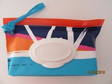 Huggies Natural Care Clutch n Clean CONTAINER ONLY no Wipes Sunset Brush Strokes
