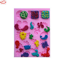 European Pattern Silicone Fondant Mold Chocolate Mold Cake Decoration Tool