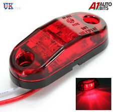 2 x Red LED Marker Light 12v Rear Tail Side Marker Lamp for Cars Vans Trucks