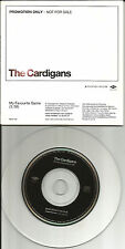 Nina Persson THE CARDIGANS My Favourite Game PROMO Radio DJ CD Single MECP 446