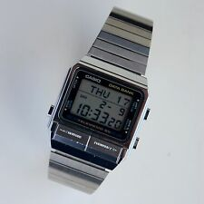 Rare Vintage Casio DATA BANK DB-510 Tel# Stop Daily Alarm Timer Watch Like New