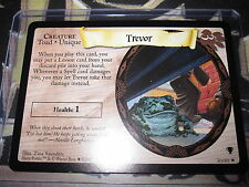 HARRY POTTER TRADING CARD GAME TCG QUIDDITCH CUP TREVOR 30/80 RARE ENGLISH MINT