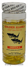 1 Alaska Deep Sea Omega3 Fish Oil 100 Softgels EPA DHA, FRESH, Made In USA