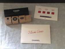 CHANEL ROUGE COCO STYLO EXCLUSIVE VIP GIFT STAMPER SET AND LIPSTICK PALETTE