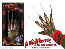 Guanto Freddy Krueger Nightmare on Elm street 3 Dream Warrior replica Glove Neca