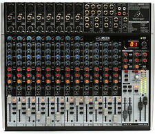 Behringer XENYX X2222USB 22-Channel Mixer Board w/ USB & FX - IN BOX! Perfect!