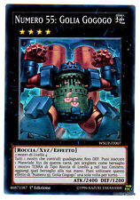 NUMERO 55 GOLIA GOGOGO WSUP-IT007 Super Rara in Italiano YUGIOH
