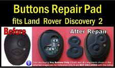 fits Land Rover Discovery 2 Td5 Remote Key - Button Repair key Pad