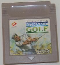 KONAMIC GOLF GAME BOY / COLOR / ADVANCE JAP 525 1177 3243 3980