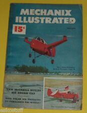Mechanix Illustrated January 1949 Magazine Plywood Helicopter Great Pictures See