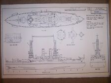 BB23 uss mississippi ship plans