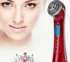 Photon 5 in1 Ultrasonic Galvanic Ion Skin Care Massager Facial Spa Device Z