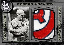 ROGERS HORNSBY ST. LOUIS CARDINALS CUSTOM HAND MADE JERSEY/LOGO/PATCH/RELIC