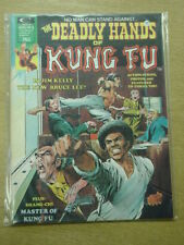 DEADLY HANDS OF KUNG FU #3 1974 AUG VF CURTIS US MAGAZINE SHANG-CHI