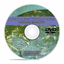 Learn about Soilless Gardening, Hydroponics, Aquaponics, Aquaculture on DVD V66