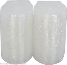 (100) CDBP42CSCL Clear Clam Shell Style CD Jewel Cases Single 4.2mm Replacement